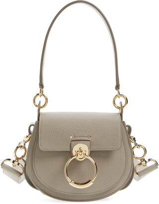 Chloé Medium Tess Lambskin Leather Shoulder Bag