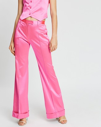 House of Holland Flared Tailored Trousers