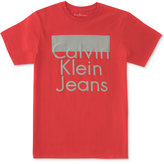 Calvin Klein Graphic-Print T-Shirt, Big Boys (8-20)