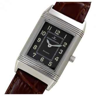 Jaeger-LeCoultre Black Steel Watches