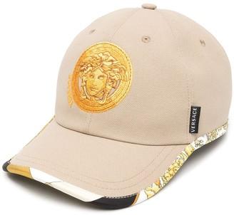 Versace Medusa Head logo cap