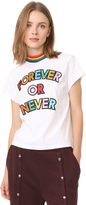 Mira Mikati Forever Or Never High Neck T-Shirt