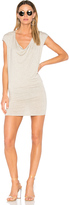 Riller & Fount Waylon Drape Front Mini Dress