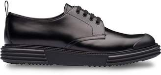 Prada thick sole derby shoes
