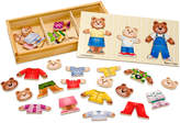 Melissa & Doug Kids Toy, Wooden Bear Family Dress-Up Puzzle