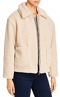 Vero Moda Camille Cropped Teddy Jacket