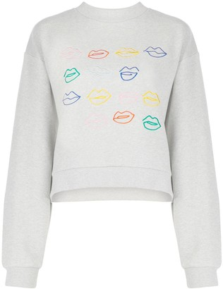 Être Cécile Kiss Grid And Miss You sweater