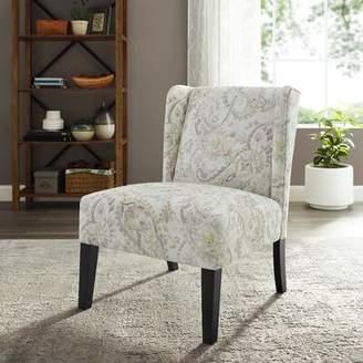 Ophelia & Co. Yashvi Wingback Chair & Co. Upholstery Color: Neutral Paisley