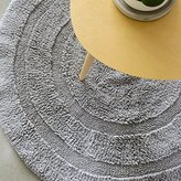 RUGAI-UE Round Can Be Machine Washed Cotton Waffle Bedside Rugs Minimalist Modern Living Room, Bedroom Mats Should 100Cm