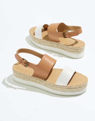 Madewell Soludos Leather Ali Sandals