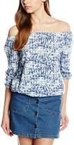 Blend of America Women's Regular fit Blouse - Blue -