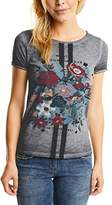 Cecil Women's FP Flower Gmd T-Shirt