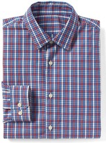 Gap Supima cotton plaid standard fit shirt