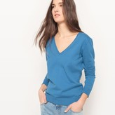 La Redoute Collections Basic V-Neck Jumper