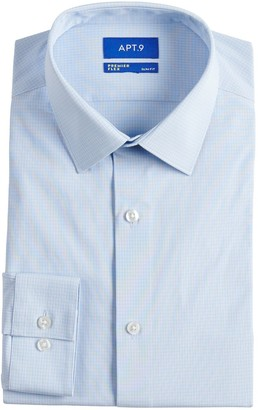Apt. 9 Men's Tall Slim-Fit Wrinkle Resistant Spread-Collar Dress Shirt