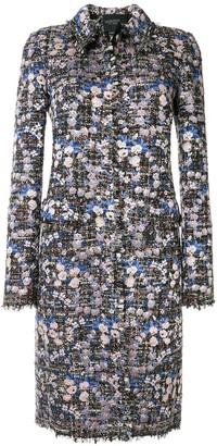 Giambattista Valli floral applique coat
