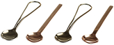 Just Slate Gold and Copper Teaspoons, Set of 4