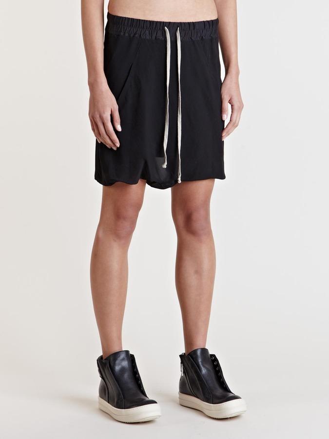 Rick Owens Women's Drop Crotch Shorts