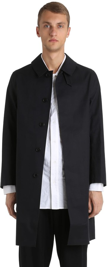 MACKINTOSH Rubberized Cotton Coat