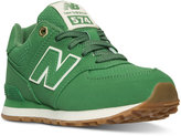New Balance Little Boys' 574 Outdoor Boots from Finish Line