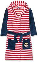 Playshoes Boy's Fleece Bathrobe Pirate Dressing Gown