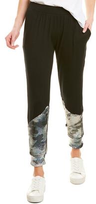 Terez Sequin Front Jogger Pant