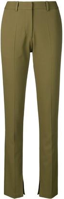 Victoria Beckham Side Split Skinny Trousers