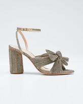 Ivory Stitched Fabric Flat Sandal Loeffler Randall Womens Iris