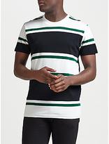 Samsoe & Samsoe Andrew Block Stripe T-shirt, White