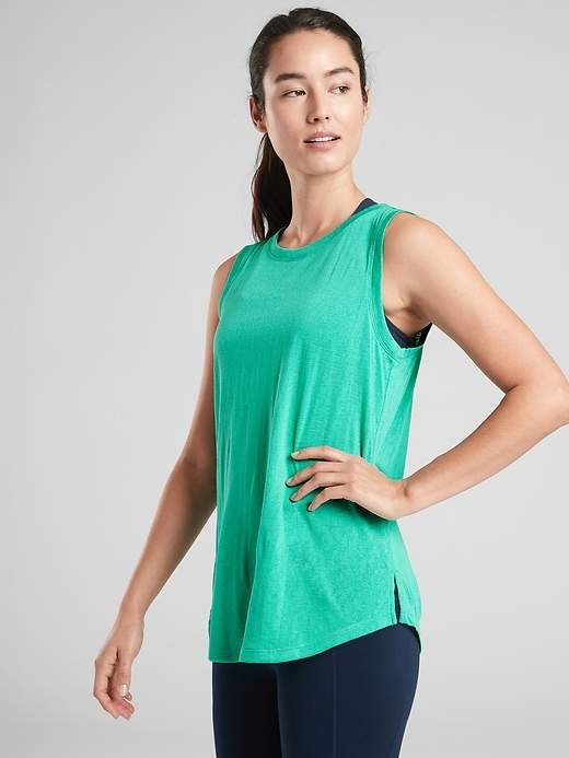 ee4e320b2b Athleta Green Women's Athletic Tops - ShopStyle
