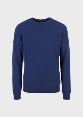 Giorgio Armani Cashmere Crew-Neck Sweater