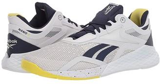 Reebok Nano X (True Grey/Vector Navy/Chartreuse) Women's Shoes
