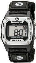 Freestyle Unisex 779024 Shark Classic Silver Nylon Strap Watch