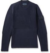 Stone Island Textured-Wool Sweater