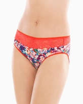 Soma Intimates Lace High Leg Brief