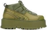 Fenty X Puma - platform lace-up sneakers - women - Polyamide/Polyurethane/rubber - 4