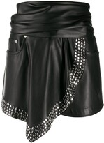 Alexander Wang faux-leather shorts