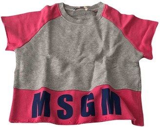 MSGM Grey Cotton Outfits