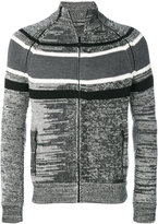 Dolce & Gabbana striped panel cardigan