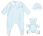 Emile et Rose All-in-One Three Piece Set, Blue