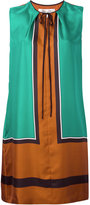 Diane von Furstenberg colour-block dress - women - Silk - 6