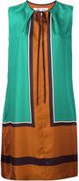 Diane von Furstenberg colour-block dress