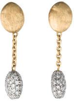 Marco Bicego 18K Diamond Drop Earrings
