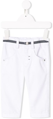 Lapin House Contrast Slim-Fit Jeans