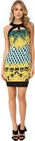 Versace Graphic Print Sheath Dress Women's Dress