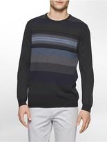 Calvin Klein Striped Merino Blend Sweater