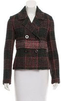 Nina Ricci Wool-Blend Short Coat