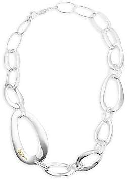 Ippolita Women's Classico Sterling Silver Smooth Cherish Chunky Link Necklace