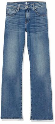 Seven for all Mankind International SAGL The Straight Bair Vintage Dusk Vaqueros Slim para Mujer