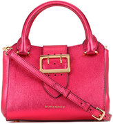 Burberry buckled frame tote